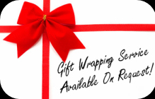We can make it easy for you to give CDs gifts to friends and family - simply ask us, and we will gift wrap before we despatch. Something less for you to do, and we're happy to provide this service for an additional charge.
