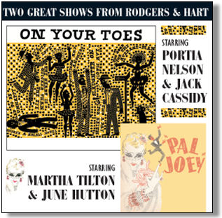 ON YOUR TOES / PAL JOEY - STUDIO CAST RECORDINGS (STAGE 9002)