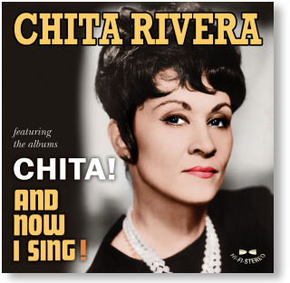 CHITA RIVERA - CHITA! / AND NOW I SING! (STAGE 9032)