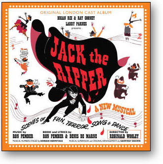 JACK THE RIPPER - ORIGINAL LONDON CAST (STAGE 9039)