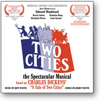 TWO CITIES - ORIGINAL LONDON CAST