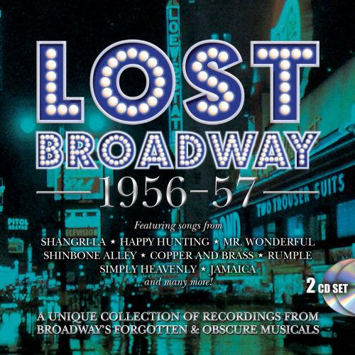 STAGE DOOR RECORDS - LOST BROADWAY 1956-57 - BROADWAY'S